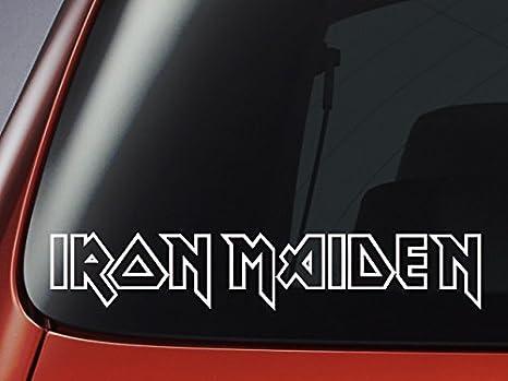 Laptop Wand Aufkleber Iron Maiden,/Vinyl f/ür/Auto Fenster