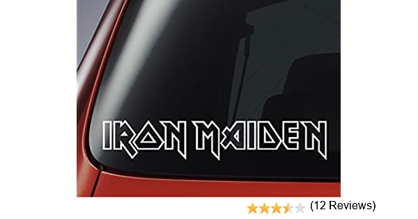 adesivo up the irons iron maiden stickers