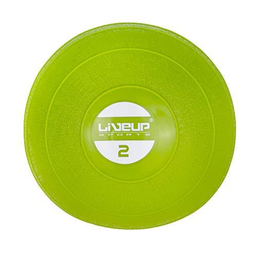 Soft Ball, Mini Bola de Exercício, 2 kg, LiveUp, Verde
