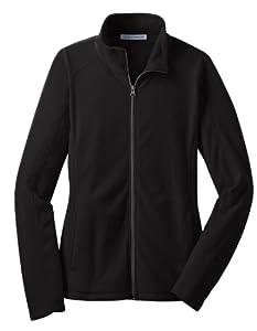 Port Authority L223 Ladies Microfleece Jacket,X-Large,Black