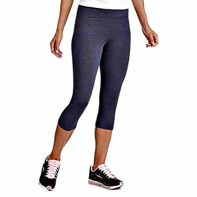 eFashion4Less Danskin 3 Item Bundle: Danskin Women's Active Capri Leggings & Compression Socks + Cool Relief Sport Towel