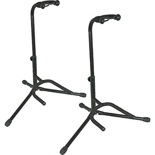 Tubular Guitar Stand (Black) - 3