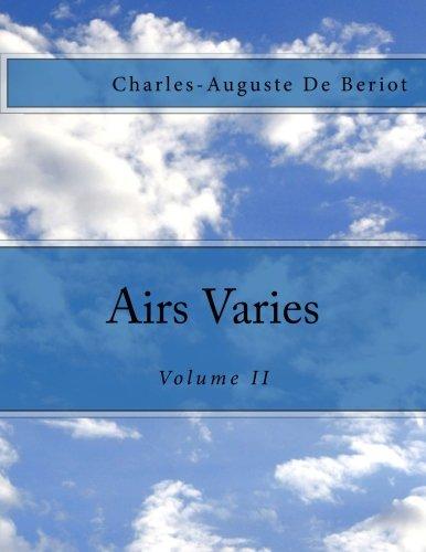 Read Online Airs Varies: Volume II pdf