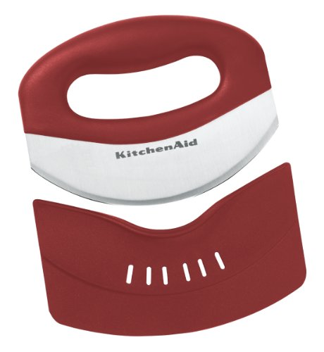 Kitchenaid Mezzaluna and Sheath, Red
