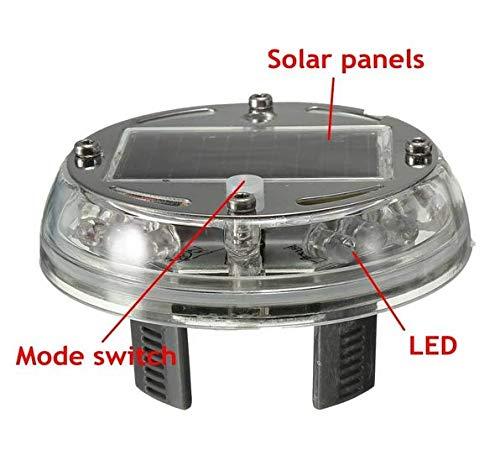 Deserve to Buy Solar Night Vision Wheel Light Car LED Decoration Colorful Wheel Light