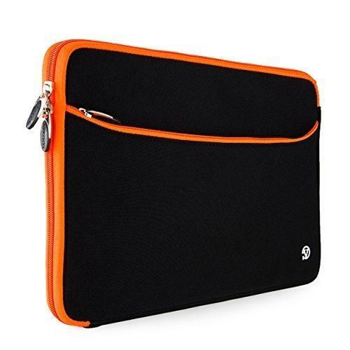Orange Trim VanGoddy Neoprene Sleeve for Lenovo 15.6 inch La