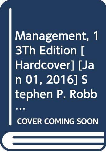 Management, 13Th Edition