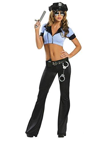 Dream Police Costume - Small/Medium - Dress Size
