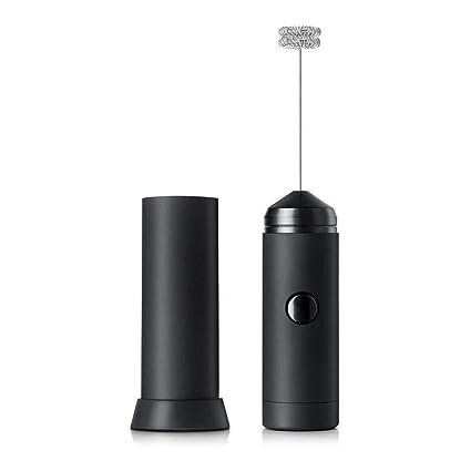 Máquina de espuma operada con batería y espumador de leche, batidora ...