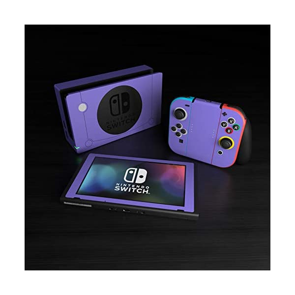 Cubed - Decal Sticker Wrap - Compatible with Nintendo Switch 5