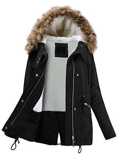 Juniors Fur Lined Hoodie - 8