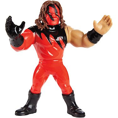 (WWE Kane - Mattel Retro Toy Wrestling)