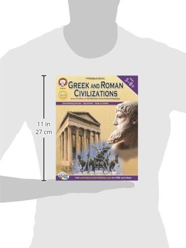 Amazon.com: Greek and Roman Civilizations, Grades 5 - 8 (World ...