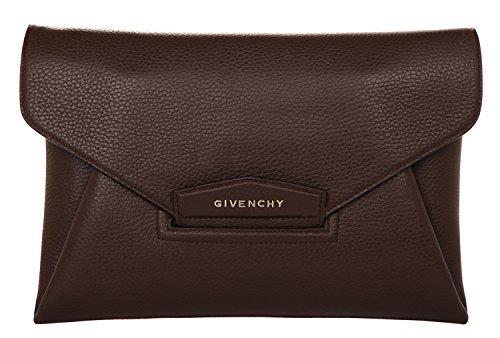Givenchy Envelope, Poschette giorno donna Nero Schwarz-Braun-Weiß