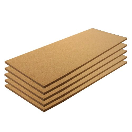 Cork Sheet Plain 12'' X 36'' X 1/8'' - 5 Pack by Cleverbrand Inc.