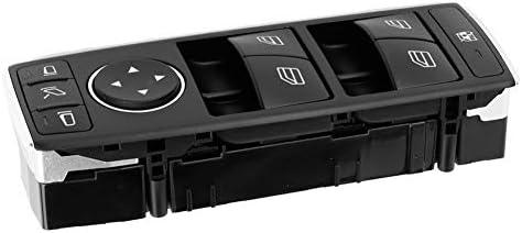 Hlyjoon Fensterheber Schalter Auto Master Fensterschalter Kfz Power Fenster Schalter Vorne Seite Für W204 2008 2014 W212 2010 2016 C207 A207 2010 2017 X204 2010 2015 2049055402 A2128208310 Auto