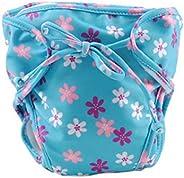 Reusable Adjustable Infant Swim Diapers Swimming Nappies Baby Leakproof Swim Short, 17
