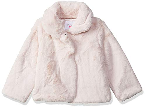 The Children's Place Baby Girls Faux Fur Jacket, Soft Rose 3T]()