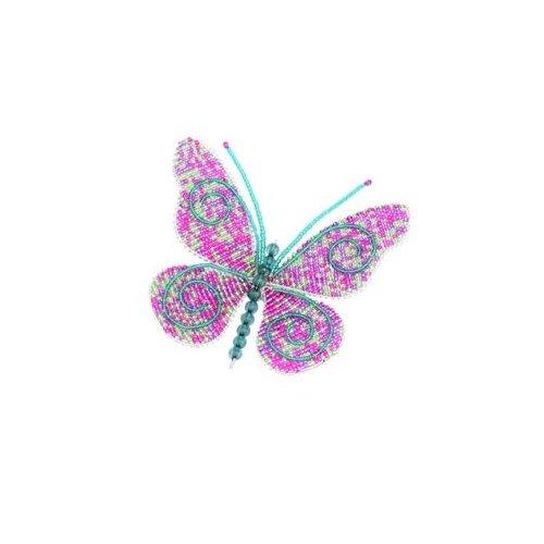 Beadworx Grass Roots Creations Small Beaded Butterflies Butterfly Home Yard