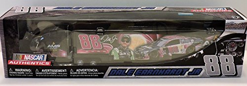 Dale Earnhardt Jr #88 AMP Energy Passion Fruit 1/64 1:64 Scale Diecast Hauler Trailer Truck Tractor Semi Rig Transporter Metal Cab/Tractor, Plastic Trailer NASCAR (Diecast Hauler Collectible)