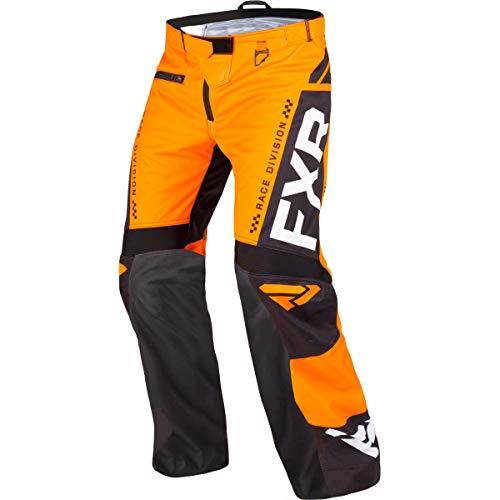 FXR 2019 Cold Cross RR Pants (Medium) (Orange/Black/White) (Fxr Snowmobile Pants)