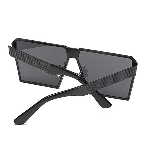 Option Soleil pour De UV400 Rétro Lunettes Femmes blackframegray en Multicolore Hommes UV Protection Et 5U7qnwt
