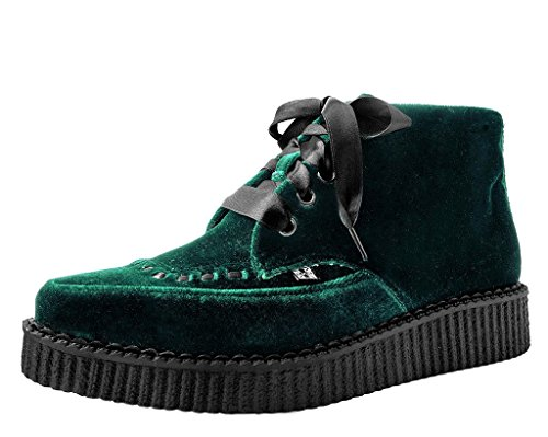 T.U.K. Shoes A9271 Unisex-Adult Boots, Emerald Velvet Pointed Boot - US: Mens 4 / Womens 6 ()