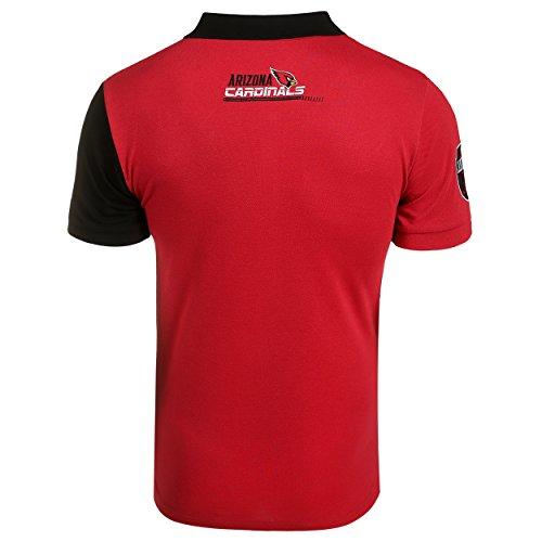 486e2ce24 Jual Klew NFL Men s Diagonal Stripe Polo - Polo Shirts