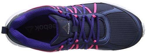 Reebok Speedlux 2.0, Zapatillas de Trail Running para Mujer Azul (Royal Slate /             Pigment Purple /             Poison Pink /             W)