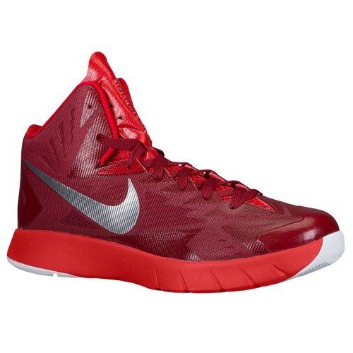 los angeles fa896 4d6ec Galleon - Nike Men s Lunar Hyperquickness Basketball Shoe, Tred Wht, SZ 8.5