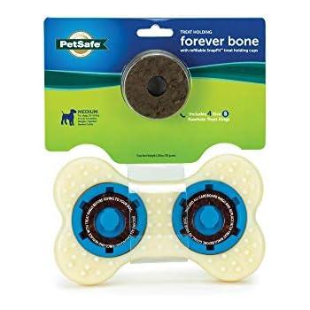 Amazon.com : PetSafe Forever Bone Dog Chew Toy, Treat