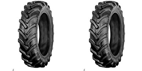 TWO 8-16 8X16 GALAXY TRACTION II R-1 AG LUG 6-ply Rated-Tubeless Tractor Tires