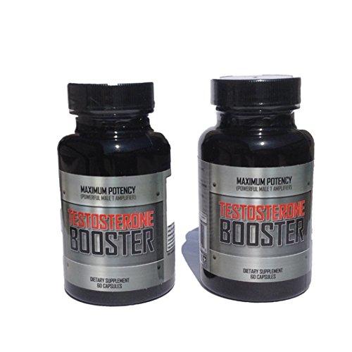 Макс Потенция - максимальная прочность природного Мужской Тестостерон Booster и общение Enhancer Производительность - 2 бутыли - Ограниченное по времени