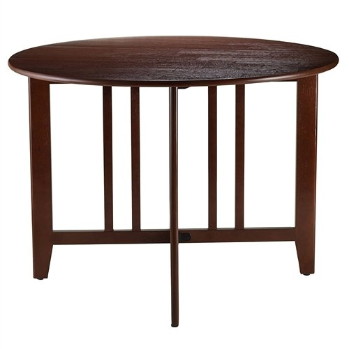 Mission Style Round Double Drop Leaf Dining Table Dining Table Room Vintage Century Svitlfe (Vintage Leaf Table Drop)