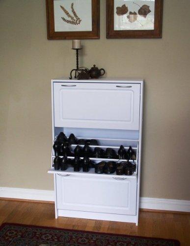 Triple Deluxe Shoe Cabinet (Triple Shoe Cabinet)