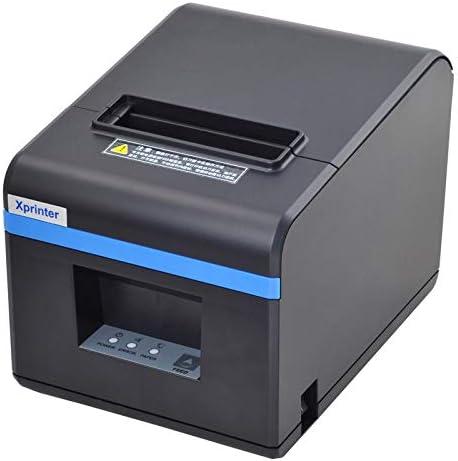LDJC Mini Impresora de Etiquetas portátil, Impresora térmica USB Boleto pequeño 80Mm Fuente de alimentación de impresión de bajo Ruido 24V2.5A para Comedor/Caja registradora/Cocina,Xpn160ii: Amazon.es: Deportes y aire libre