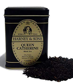 (Queen Catherine, Loose tea in 4 Ounce tin)