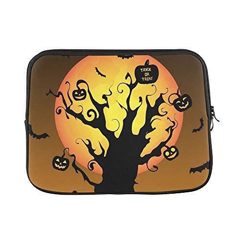 Design Custom Silhouette Halloween Graveyard Sleeve Soft Laptop Case Bag Pouch Skin for Air 11