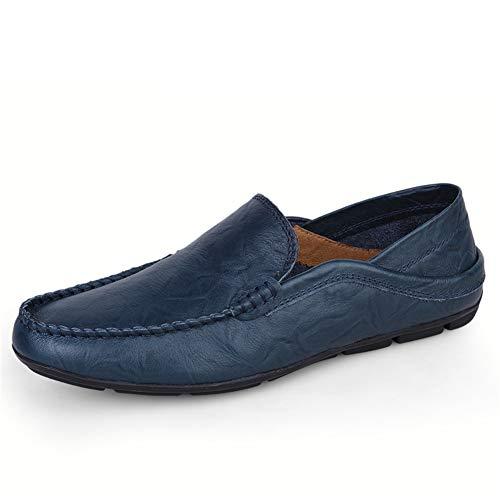 Conducción Mens Suela fei Primavera Y 35 Zapatos Suave blue otoño Casual Mocasines Zapatos Business Ciclismo Zapatos Gpf Slip ons q78xRwxf