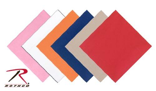 (Solid Color Bandanas (Khaki))
