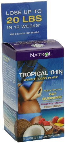 Natrol Tropical Thin Weight Count