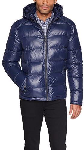 GUESS mens standard Midweight Puffer Jacket