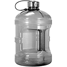 1 Gallon BPA FREE Reusable Plastic Drinking Water Bottle w/Stainless Steel Cap