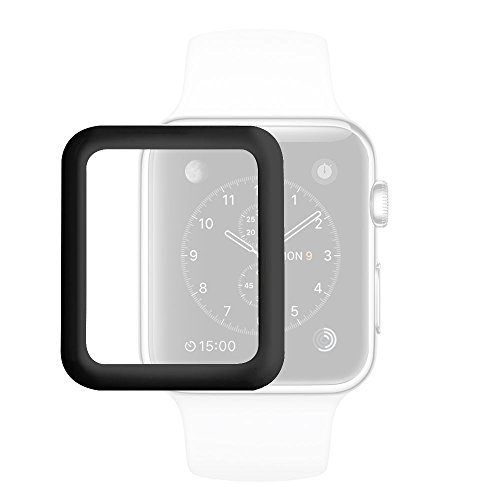 aceyoon Tempered Glass Screen Protector for Apple Watch Series 2 Ultra Thin 0.2mm All Around Protection HD Smart Watch Protective Cover Case