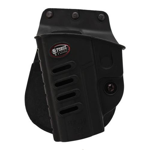(Fobus H&K P30 Evolution Roto-Holster Paddle, Black, Left)