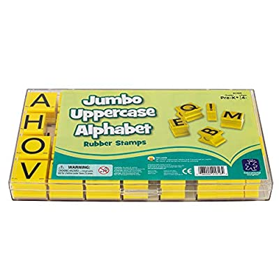 Educational Insights Alphabet Rubber Stamps Jumbo - Uppercase 1