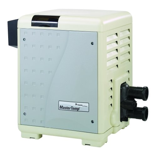 Pentair 460805 MasterTemp High Performance Eco-Friendly Pool Heater, Natural Gas, 400,000 BTU, Heavy Duty by Pentair