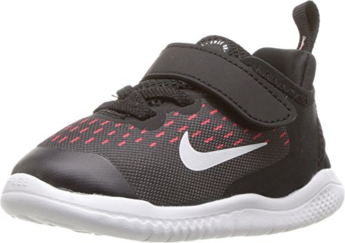 Nike Free RN 2018 (TDV) Girl's Toddlers (Baby / Infant) Running Shoes AH3456-001 (8C) (Nike Kids Free Shoes)