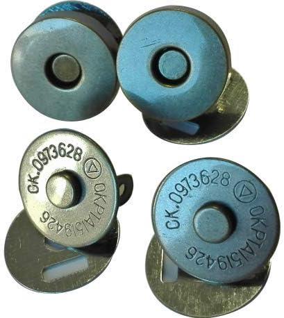 FILOUFACE 2 Magnets /à Rivets Coloris Bronze 19 mm Fermoir Sac /à Main Aimant