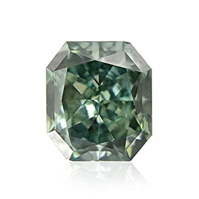 0.70 Carat Fancy Deep Bluish Green Loose Diamond Natural Color GIA Untreated